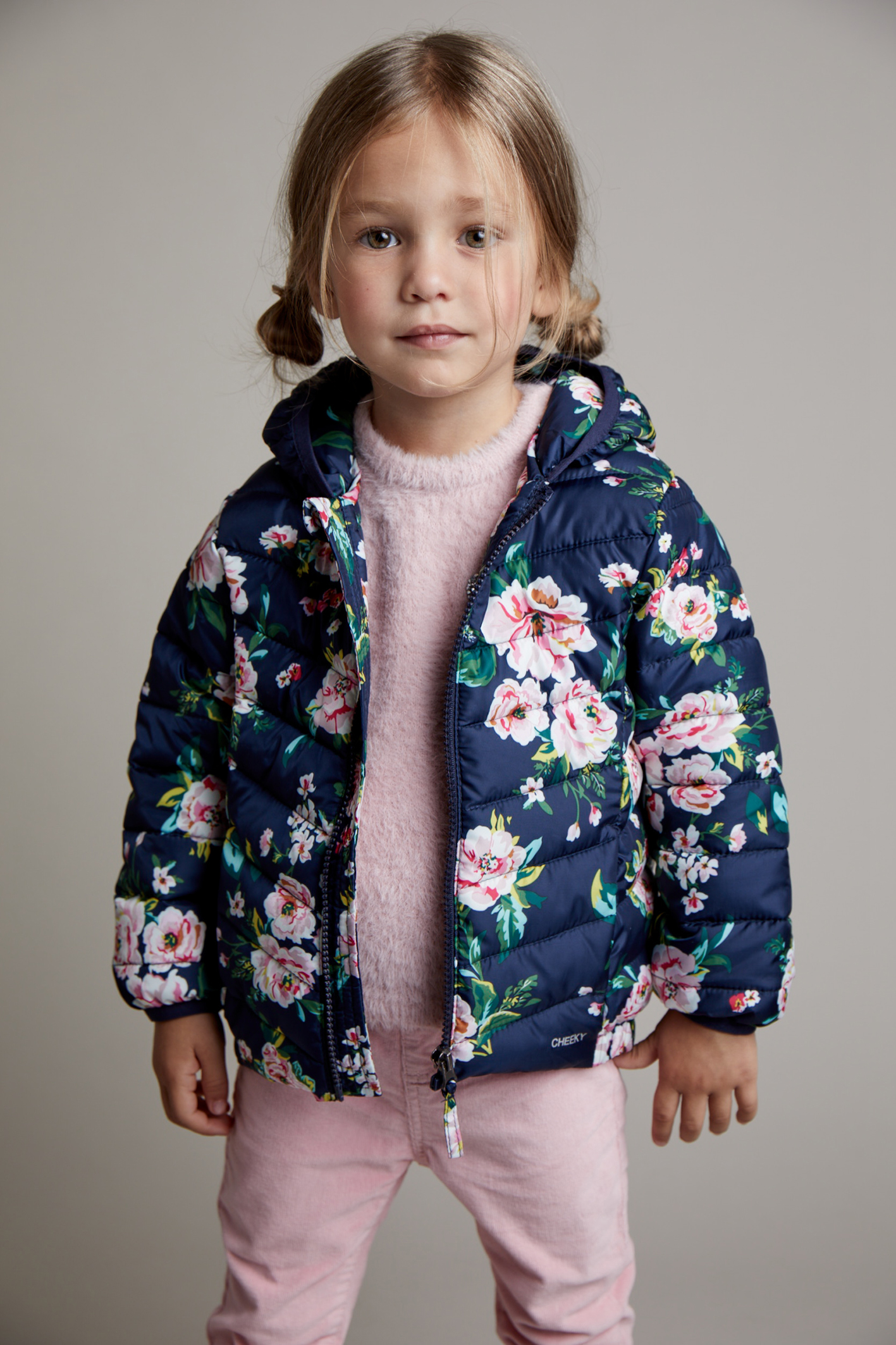 Campera sky estampada